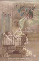 GUERRE 14-18 . L'ANGE ET L'ENFANT. ANNEE 1915 + TEXTE - Anges