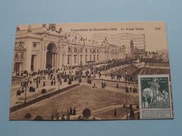 Exposition De Bruxelles - Le Grand Palais ( 1032 - Valentine ) 1910 ( Voir / Zie Photo ) ! - Expositions Universelles