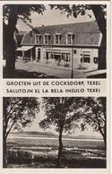 GROETEN UIT DE COCKSDORP,TEXEL SALUTOJN EL LA BELA INSULO TEXEL - Esperanto