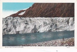 Alaska View Of Miles And Childs Glacier Curteich - United States