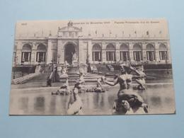 Exposition De Bruxelles - Façade Principale, Vue Du Bassin ( 1037 - Valentine ) 1910 ( Voir / Zie Photo ) ! - Expositions Universelles