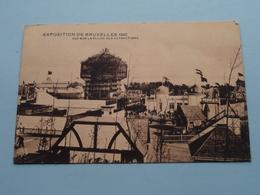 Exposition De Bruxelles - Vue Sur La Plaine Des Attractions () 1910 ( Voir / Zie Photo ) ! - Expositions Universelles