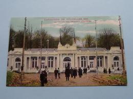 Exposition De Bruxelles - Le Palais Des Travaux Féminins () 1910 ( Voir / Zie Photo ) ! - Expositions Universelles