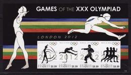 Antigua & Barbuda, Olympic 2012, Imperforated - Summer 2012: London