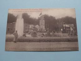 Exposition De Bruxelles - Le Grand Bassin Vu Vers Le Bois De La Cambre ( A.L. Brux. ) 1910 ( Voir / Zie Photo ) ! - Expositions Universelles