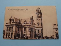 Exposition De Bruxelles - Palais De La Ville De Bruxelles () 1910 ( Voir / Zie Photo ) ! - Expositions Universelles