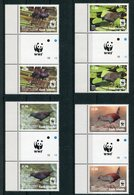 "WWF - Cookinseln - Mi.Nr. 1993 / 1996 Gutter Pair - ""Südseesumpfhuhn"" ** / MNH (aus Dem Jahr 2014) - W.W.F."