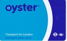 TARJETA DE TRANSPORTE DE LONDRES - OYSTER (LONDON) - Non Classés