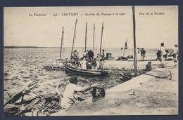 Loctudy Arrivée Du Passeur à La Cale - Loctudy