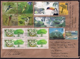 Argentine - 2018 - Lettre - Tourisme -  Faune - Oiseaux - Colibris - Chutes D'Iguazu - Argentine