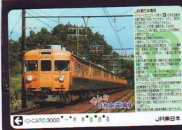 Carte Prépayée  Japon * TRAIN * JR * IO * CARD * (4887) Japan Prepaid Card * ZUG * Karte * TREIN * IO * - Trains