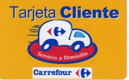 TARJETA CLIENTE DE CARREFOUR (SUPERMERCADO) - Tarjetas Telefónicas