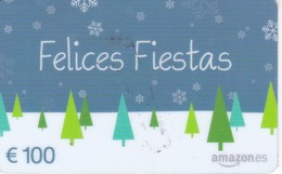 TARJETA DE REGALO DE 100€ DE AMAZON (FELICES FIESTAS) NAVIDAD-CHRISTMAS - Tarjetas Telefónicas