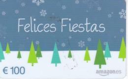 TARJETA DE REGALO DE 100€ DE AMAZON (FELICES FIESTAS) NAVIDAD-CHRISTMAS - Non Classés
