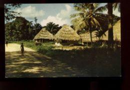 B9502 LIBERIA ETHNICS - MENDE PEOPLE TRIBE - MENDE VILLAGE - UNIQUE POSTCARD - Liberia