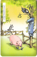 BULGARIA(chip) - Pig, Mobika Telecard 400 Units, Tirage 10000, 03/99, Used - Télécartes