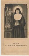 BEATA MARIA D. MAZZARELLO - TORINO - FOSSATI -  IMAGE RELIGIEUSE - - Images Religieuses