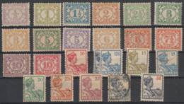 SURINAM - 1913-31 Part Set To 35c. Mint And Used. Scott Between 74-104. - Suriname ... - 1975
