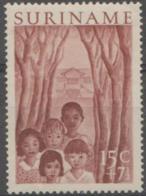 SURINAM - 1954 15c Welfare. Scott B60. Mint Light Hinge - Surinam ... - 1975