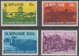 SURINAM - 1982 Sugar Centenary. Scott 606-609. MNH ** - Surinam