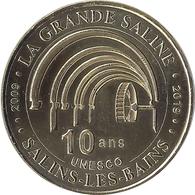2019 MDP111 - SALINS LES BAINS 5 - 10 Ans UNESCO / MONNAIE DE PARIS - 2019