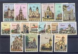 ANGOLA 1963 CHURCHES - Angola