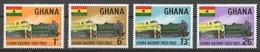 Ghana 1963 Mi# 162-65** GHANA RAILWAY, LOCOMOTIVES - Ghana (1957-...)