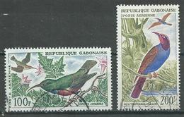 Gabon Poste Aérienne YT N°14-15 Oiseaux Oblitéré ° - Gabon (1960-...)