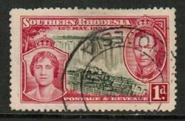 SOUTHERN RHODESIA   Scott # 38 VF USED (Stamp Scan # 434) - Rhodésie Du Sud (...-1964)
