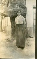 MUJER JOVEN YOUNG WOMAN OLD FASHION MODA ANTIGUA CIRCA 1930 POSTAL POST CARD -LILHU - Mode