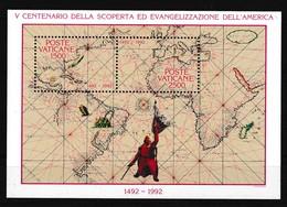 Vatikaan 1992 Blok Nr 13 **, Zeer Mooi Lot K911 - Francobolli