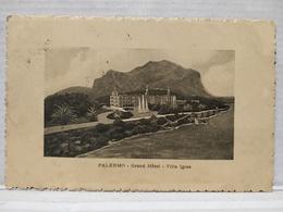 Palermo. Grand Hôtel. Villa Igiea - Palermo