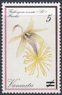 Vanuatu 1985 - Surcharged Definitive Stamp: Orchid - Mi 693 ** MNH - Vanuatu (1980-...)