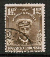 SOUTHERN RHODESIA   Scott # 3 VF USED (Stamp Scan # 434) - Southern Rhodesia (...-1964)
