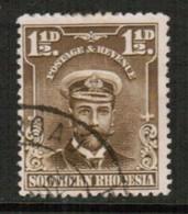 SOUTHERN RHODESIA   Scott # 3 VF USED (Stamp Scan # 434) - Rhodésie Du Sud (...-1964)