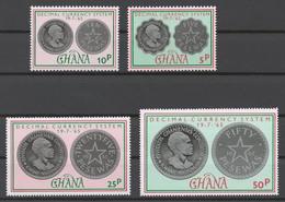 Ghana 1965 Mi# 220-23** COINS - Ghana (1957-...)