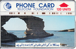 PAKISTAN(L&G) - Sea Caves(120 Units), CN : 505A, Tirage 60000, Used - Pakistan