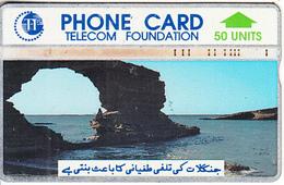 PAKISTAN(L&G) - Sea Caves(50 Units), CN : 305B, Used - Pakistan