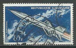 Gabon Poste Aérienne YT N°10 Fusée Oblitéré ° - Gabon (1960-...)
