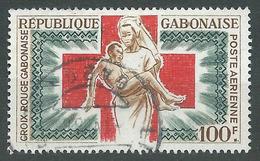 Gabon Poste Aérienne YT N°36 Croix-Rouge Gabonaise Oblitéré ° - Gabon (1960-...)