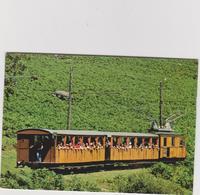 Pyrénées  Atlantique : Col De St Ignace , LA RHUNE , Le  Train à  Crémaillère  1981 - Francia