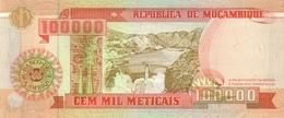 Mozambique P.139  100000 Meticais 1993 Unc - Mozambico