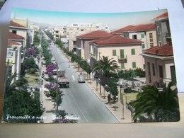 1957 - Chieti - Francavilla A Mare - Vigile Urbano - Auto E Camion D'epoca - Animata - Bella Cartolina - Chieti