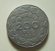Brazil 200 Reis 1938 - Brésil