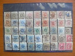 Estampillas Antiguas De Suecia -  Old Stamps Of Sweden - Svezia