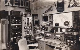 XE1IQ, PUEBLA, MEXICO, CIRCULEE 1958 A ARGENTINE. QSL RADIOHAM- BLEUP - Radio-amateur