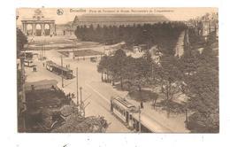 Bruxelles- Porte De Tervueren Et Arcade--(C.8249) - Marktpleinen, Pleinen