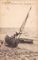 COTE D'AZUR - Marines - Réparation De La Voile - Bateau - Francia
