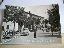 1963 - Bologna - Tolè - La Piazza - Staz. Climatica - Fiat Giardinetta Auto D'epoca - Animata - Bella Cartolina D'epoca - Bologna