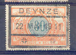 F200 -België  Spoorweg Chemin De Fer Met Stempel DEYNZE - Chemins De Fer